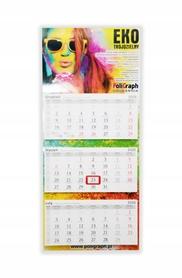 Kalendarze trójdzielne EKO