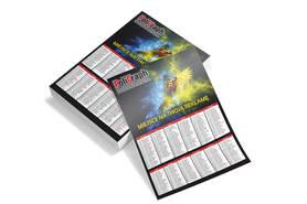 Kalendarze strażackie / kominiarskie A3