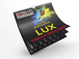 Kalendarz spiralowany - wieloplanszowy LUX