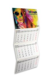 Kalendarze trójdzielne STANDARD