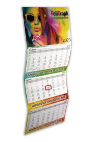Kalendarze trójdzielne VIP