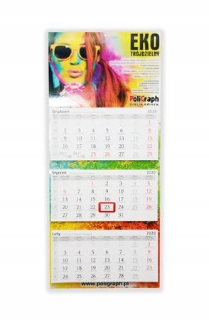 Kalendarze trójdzielne EKO (1)